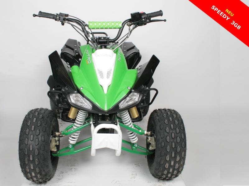 125cc quad speedy 8 zoll 3g rg ligth motocross. Black Bedroom Furniture Sets. Home Design Ideas